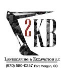 2KB Landscaping & Excavation Logo
